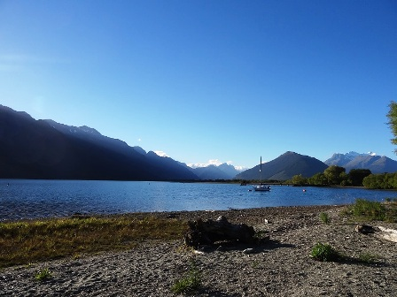 Landscape of New Zeland - Wakatipu